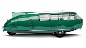 Dymaxion Car side view