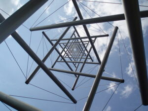 Tensegrity styled tower